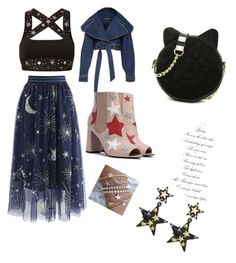 """""""Untitled #131"""" by isaisabel on Polyvore featuring beauty, Chicwish, Ultracor and Betsey Johnson"""