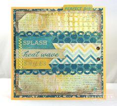 Summer Card by Authentique Paper Guest Designer Natasha Aguirre