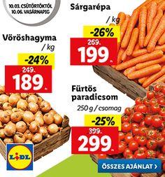 Klasszikus lecsós szelet Recept képpel - Mindmegette.hu - Receptek Carrots, Bacon, Vegetables, Food, Essen, Carrot, Vegetable Recipes, Meals, Yemek