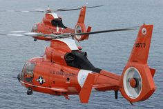 US Coast Guard Eurocopter HH-65C Dolphins