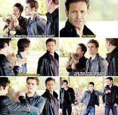 "#TVD 6x08 ""Fade Into You"" - Damon, Stefan and Alaric"