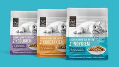ONTO cat food on Behance Pet Branding, Cat Food, Crickets, Blog, Cats, Behance, Design Agency, Cat Feeding, Gatos