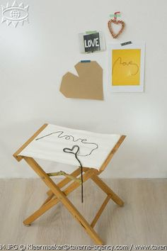DIY chairs, sewing, love © Rosalie Noordam & Anouk De Kleermaeker
