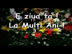 La Multi Ani, e ziua ta ! - YouTube My Destiny, Music Publishing, Happy Birthday, Christian, Songs, Make It Yourself, Youtube, Motto, Decor