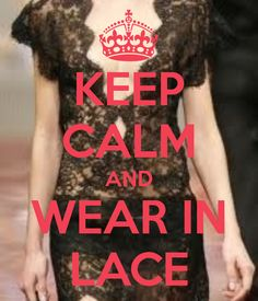 Lace dress quotes keep