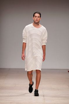 "Ricardo Dourado presented his Spring/Summer 2013 collection at Moda Lisboa, entitled  ""West meets East""."