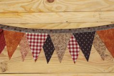 Fabric Banner Bunting Christmas Banner by simplyapplesnspice