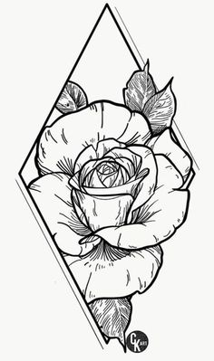 Art Drawings Simple, Sketches, Ink Art, Cool Art Drawings, Art Tattoo, Drawings, Flower Drawing, Art, Flower Sketches