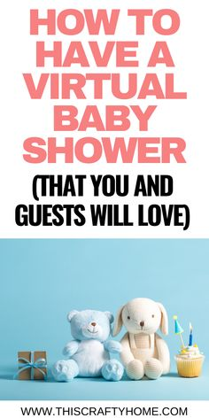Top tips and ideas to have a baby shower while maintaining social distancing during the coronavirus pandemic. Ways to still have a special baby shower during your pregnancy. Baby Shower Game Prizes, Fun Baby Shower Games, Baby Shower Activities, Baby Games, Baby Shower Printables, Baby Shower Parties, Baby Shower Themes, Baby Boy Shower, Shower Ideas