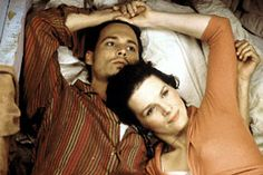 """""""Chocolat"""" starring Juliette Binoche and Johnny Depp - great movie and great soundtrack. Johnny Depp Chocolat, Johnny Movie, Johnny Depp Movies, Juliette Binoche, Photoshop Me, Network For Good, Romantic Movies, Michel, Great Movies"""