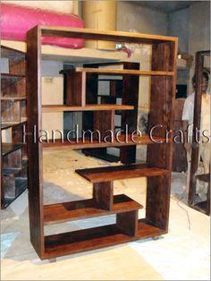 Wooden furniture - Living Room Shelves | goplaceit.com