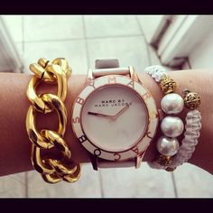 Marc by Marc Jacobs watch, via Behind The Seams
