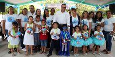 Premian a ganadores de Preescolar, Primaria y Secundaria
