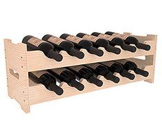 12 Bottle Mini Scalloped Wine Rack | Living Series™ Wine Rack