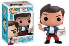 Amazon.com: Funko POP Movies Ace Ventura Pet Detective Vinyl Figure: Toys & Games