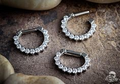 Titanium Odyssey septum clicker, these are currently out of stock but I want one so bad!