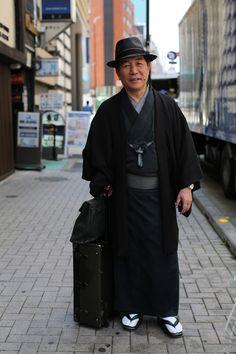 ADVANCED STYLE: A Gentleman in Ginza Schön elegant