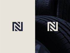 newtire - Letter N + Tire