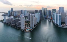 Brickell prides itself for introducing a new jewel; One Brickell, a residential and commercial megaproject by The Related Group and Arquitectonica. South Beach, South Florida, Miami Beach, American Airlines Arena, What A Beautiful World, Downtown Miami, Travel Magazines, Sunshine State, Dream Decor
