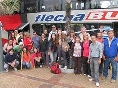 Delegación correntina rumbo a San Pablo, Brasil #ArribaCorrientes