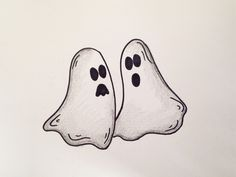 drawing lesson how to draw halloween ghosts grab paper crayons and a - Halloween Images To Draw