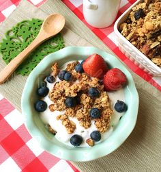 What To Bake Today: Homemade Granola Clusters goodness!