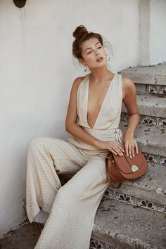 Let The Jetset Diaries Inspire Your Summer Wardrobe With This Collection Earthy Outfits, Earthy Style, Neutral Outfit, Cute Summer Outfits, Fashion Labels, Summer Wardrobe, Boho Chic, Casual Chic, Summer Collection