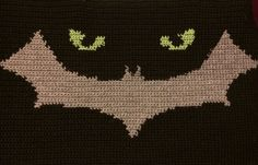 Catwoman crochet!  Soon the blanket will be available.  Stay tuned on facebook as to when!