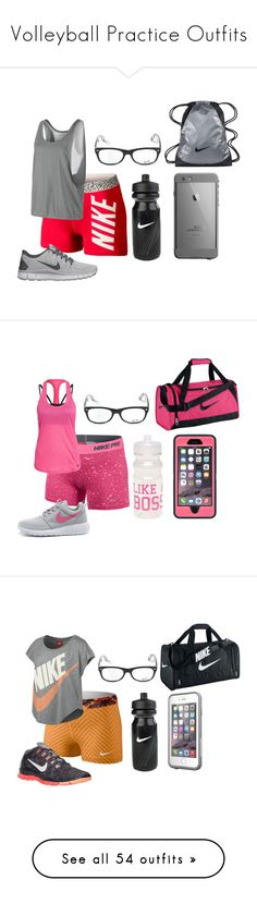 """""""Volleyball Practice Outfits"""" by summer-vernon ❤ liked on Polyvore featuring NIKE, Ray-Ban, Wet Seal, LifeProof, Under Armour, Speck, OtterBox, Victoria's Secret, Valentine Goods and Victoria's Secret PINK"""