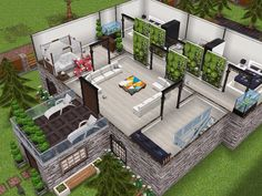 House 15 level 2  #sims #simsfreeplay #simshousedesign