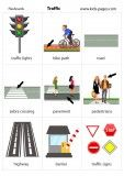 Traffic In Town flashcard Letter Flashcards, Flashcards For Kids, Preschool Learning Activities, Toddler Learning, English Lessons, Learn English, English Vocabulary Words, English Grammar, English Worksheets For Kids