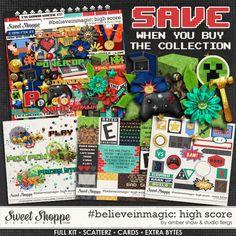 #believeinmagic: High Score: Collection by Amber Shaw & Studio Flergs