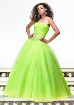 She told me she can't wait for Prom. She wants to wear a lime green dress. This is what she described. (tears roll down) My goodness, she will be beautiful.