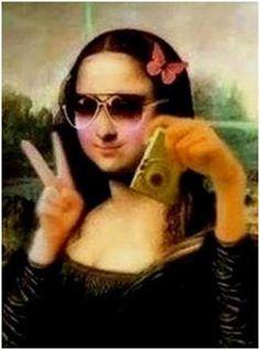 Selfie of Monalisa :)