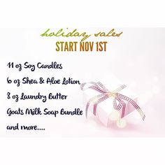 Get Ready! Get Ready.. Some of your favorites in great festive scents  by handmadecartel