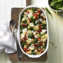 Gnocchi-Spinat-Auflauf - sehr zu empfehlen!!