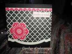 Carolyn's Card Creations: Modern Medley Make a Wish