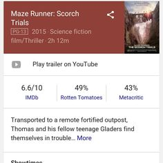 #watching #mazerunner2 #portlandoregon #movies #bdcrmovies