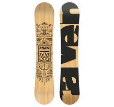 Tabla de snowboard Raven Solid 2019