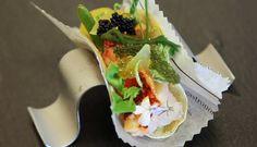 Taco de bogavante huerta y mar de Carme Ruscalleda | Gastronomía & Cía