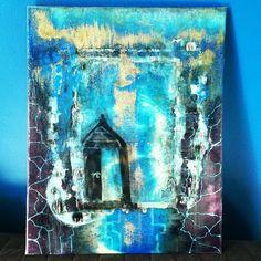 #art #aqua #artist #acrylic #abudhabi #myabudhabi #blues #bleach #color #door #wax #wall #d#emirates #exhibition #experiment #fire #gold #ink #layers #light #nonfigurative #night #purple #painting #resin #sky #smoke #uae by corneliabaciu