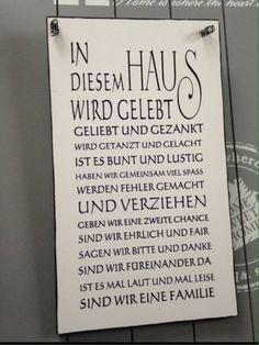 """HAUS... "" - Wandschild Deko Shabby Vintage"