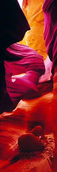Antelope Canyon, Arizona - This doesn't even look real! I've gotta get there to check it out myself!