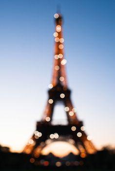 Eiffel at Sunset - stephanie shih || food+travel photography