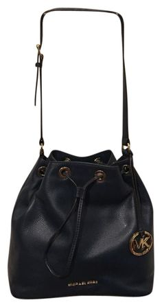 9ec4c4b1ffb Michael Kors Bucket Navy Blue Tote Bag. Get one of the hottest styles of the