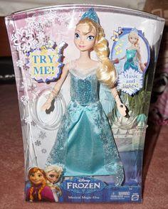 @Disney Store Frozen dolls