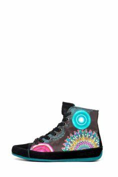 Zapatillas deportivas Desigual Canela