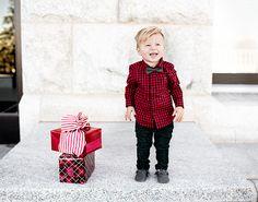 Kid's Christmas look