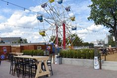 Take A Walk Around Ferris Wheelers, Dallas' New Playground For Grown-Ups - Eater Dallas