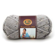 Lion Brand Hometown USA Prints Yarn in Dusty